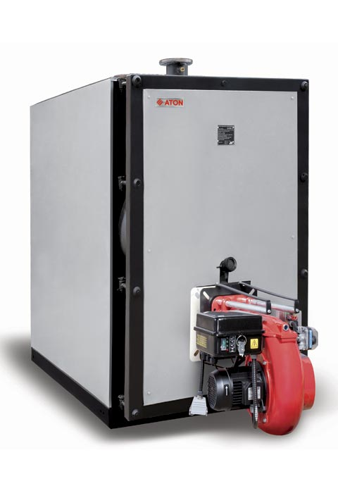 Fire Water Boiler ~ Hot water gas fire tube boilers aton stab