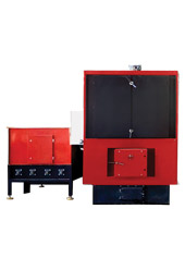 Steel solid fuel boilers with mechanical fuel loading АТОN TM 100 - 3000